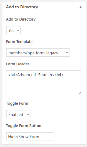 bp_profile_search_form_add_to_directory