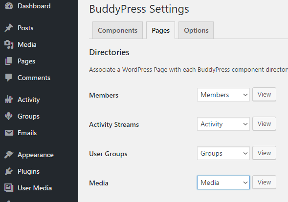 buddymedia_bp_settings