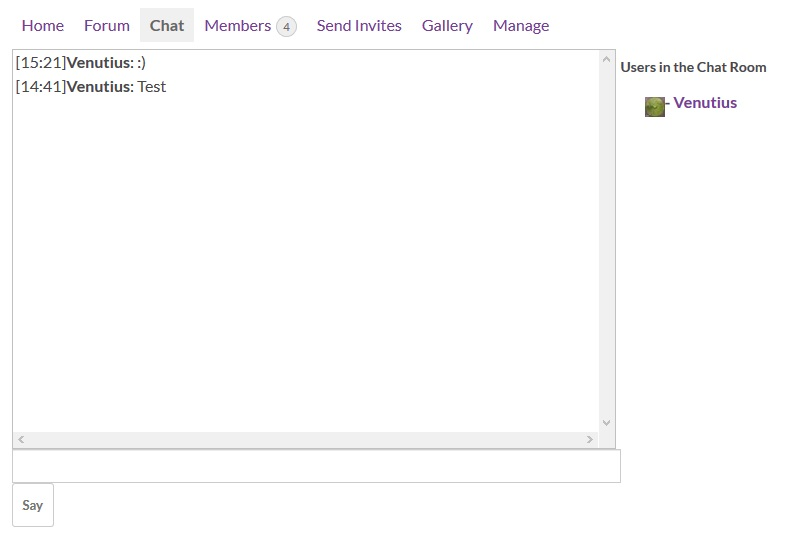 Plugin – BuddyPress Group Chatroom – BuddyPress User